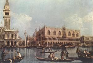 Cuadros de Canaletto, Regreso del Bucintoro al muelle el día de Ascensión