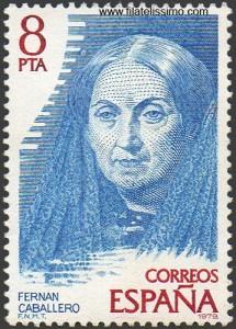 Escritoras españolas, Fernán Caballero (sello)