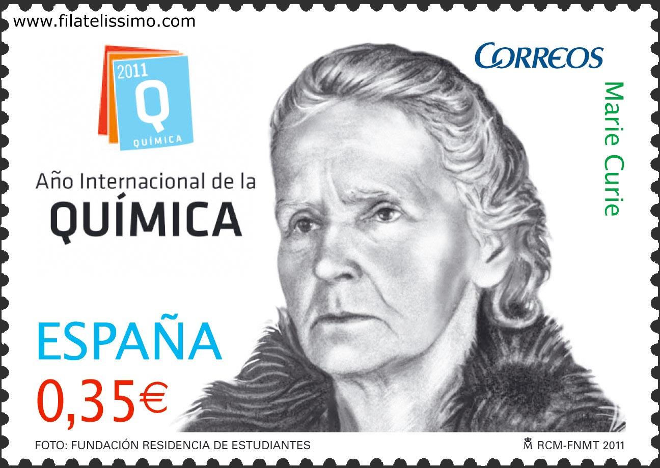 Año Internacional de la Química. Marie Curie