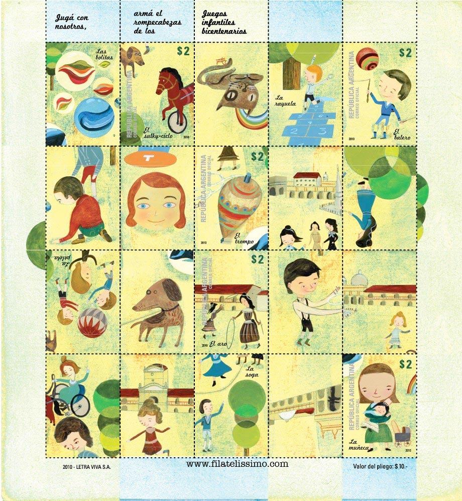 Temática Infantil. Juegos Bicentenarios