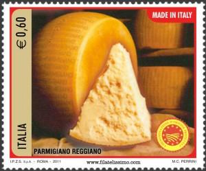 Quesos italianos; Parmesano