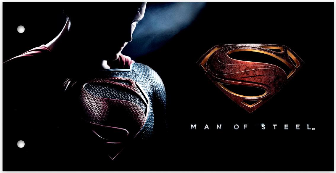 Sellos de El hombre de acero (Man of Steel) Superman